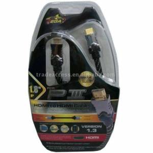 PLATOON PL-854 HDMI to HDMI Cable for PS3 GOLD