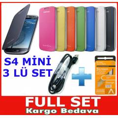 SAMSUNG GALAXY S4 Mini Flip Cover KILIF i9190 s4