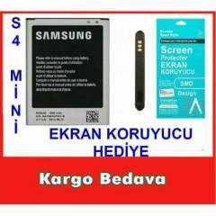 SAMSUNG GALAXY S4 Mini BATARYA İ9190 PİL S4MİNİ