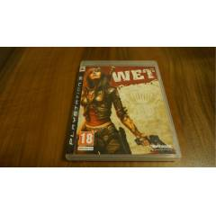 WET - PS3 Play Station 3 Oyun