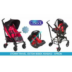 Casual Storm Lüx Baston Travel Sistem Bebek