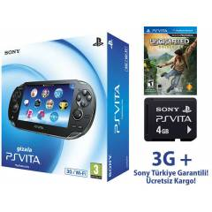 Sony Ps Vita 3G +Wifi +4GB+ Full Aksesuar PSVITA