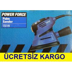 POWER FORCE AVUÇ İÇİ ZIMPARA MAKİNESİ 130 WATT