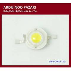 POWER LED 3w  Cold White