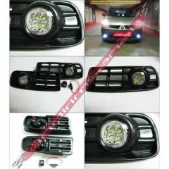 VW GOLF 4 IV 98-GÜNDÜZ DRL POWER LED SİS FARI 2