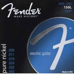 Fender Pure Nickel 150L Light Elektro Gitar Teli