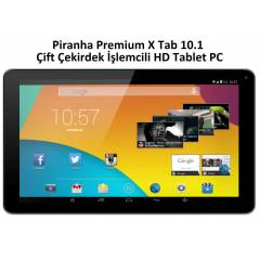 Piranha Premium X Tab 10.1' Kitkat 4.4 Tablet PC