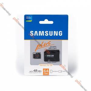 Samsung Micro SD Plus 64GB Haf�za Kart� Adapt�rl