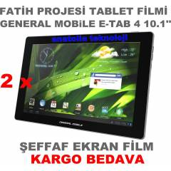 General Mobile E-Tab 4 Fatih Projesi Tablet Film