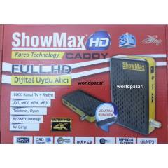 SHOWMAX Full HD Mini Uydu Alıcısı USB PVR BİSSLİ
