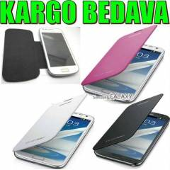 SAMSUNG GALAXY S3 MİNİ KILIF FLİP COVER KP i8200