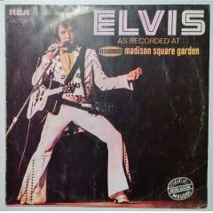 Elvis As Recorded At Madison Square Gard 33 PLAK