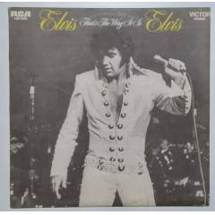 ELVIS PRESLEY That's The Way It Is  33lp (Yerli)