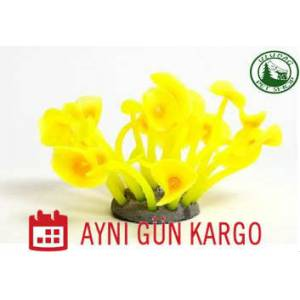 AZOO 27153 Neon Coral (L) Yellow Akvaryum S�s�
