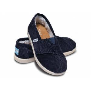 TOMS Navy Cord Tiny Classic