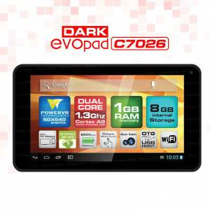 Dark EvoPad C7026KS 7'' �ift �ek. Tablet PC
