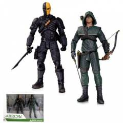 Arrow Oliver Queen Deathstroke 2 Pack Action Fig
