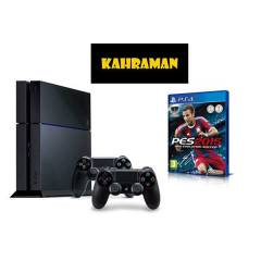 SONY PS4 500 GB + 2.KOL +PES 15 + PS4 KULAKLIK