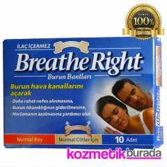 Sensodyne  Breath Right Nasal Strip Normal Boy