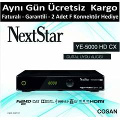 Next Star Ye-5000 HD CX Full Hd Uydu Alıcısı