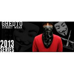 V FOR VENDETTA    BANDANA RAP-HİP-HOP