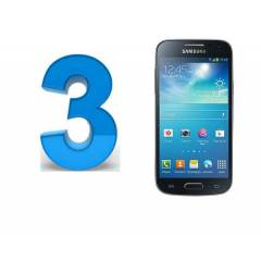 SAMSUNG i9190 GALAXY S4 MİNİ EKRAN FİLM 3 ADET