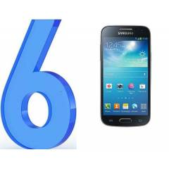 SAMSUNG i9190 GALAXY S4 MİNİ  EKRAN FİLM  6 ADET