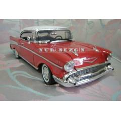 MODEL ARABA 1:18 1957 CHEVY BEL AIR 87