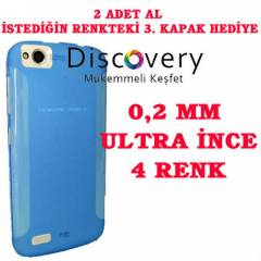 GENERAL MOBİLE DİSCOVERY KILIF 0.2 mm ULTRA SLİM