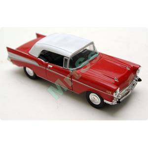 1957 CHEVY BEL A�R 1/40 D�ECAST MODEL METAL ARAB