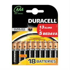 Duracell 13+5 AAA �nce Pil