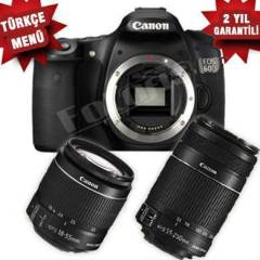 Canon Eos 60D 18-55mm IS II + 55-250mm IS II KİT