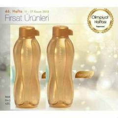 TUPPERWARE EKO ŞİŞE 500ml SULUK GOLD 2 Lİ SET
