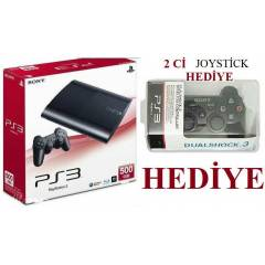 Sony Playstation 3 500 GB Super Slim ÇİFT KOL
