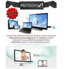 Pritech W1 Android, IOS, Windows Destekli