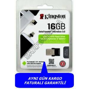 K�NGSTON 16GB M�CRODUO USB 3.0  OTG BELLEK