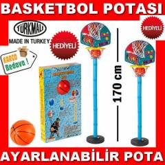 BASKET POTASI AYARLANIR AYAKLI BASKETBOL POTASI