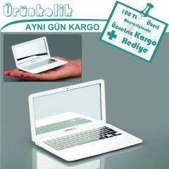 MİRRORBOOK AİR - MACBOOK (LAPTOP) ŞEKLİNDE AYNA