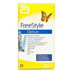 OPTİUM FREESTYLE ŞEKER ÖLÇÜM STRİBİ