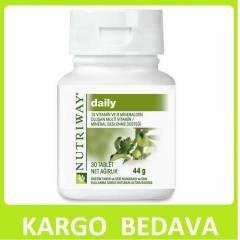 AMWAY NUTRİWAY DAİLY 30 TABLET     KARGO BEDAVA