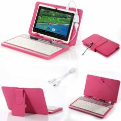 7 inç TABLET PC Klavyeli KILIF Stand SET