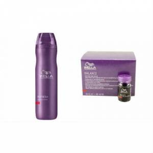 WELLA BALANCE ANT� HA�R LOSS SERUM 8 X 6 ML