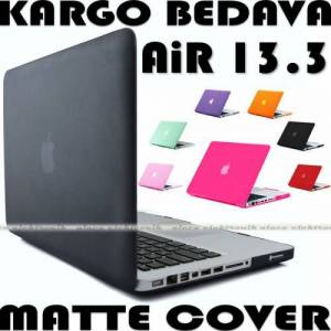 APPLE MACBOOK AIR 13.3 KILIF 2in1 KAPAK MAT DOKU