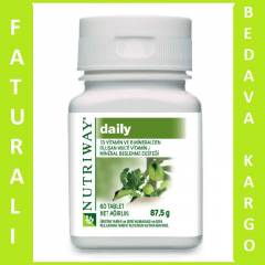 AMWAY NUTRIWAY DAİLY 60 TABLET -  AYNI GÜN KARGO