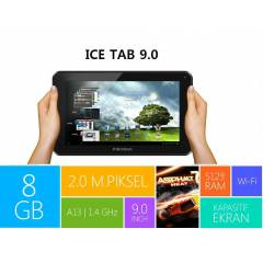 Piranha ICE Tab 9'' 8GB 4.2 Jelly Bean Tablet PC