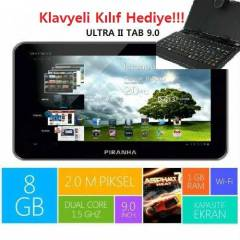 Piranha ULTRA II Tab 9.0 Tablet PC+Klavye Hediye