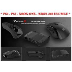 PS4 Venom X Wireless Laser Mouse Controller