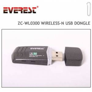 EVEREST KABLOSUZ USB ALICI W�RELESS-N DONGLE