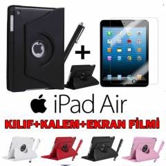 İPAD AİR KILIF 360° DÖNEBİLEN MODEL İPAD 5 KILIF