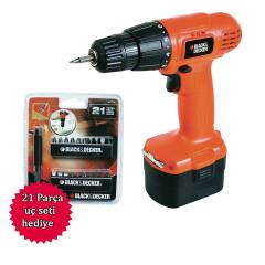 BLACK & DECKER CD961 9,6 V Şarjlı Matkap